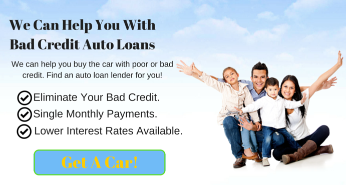 We Can Help You With Bad Credit Auto Loans